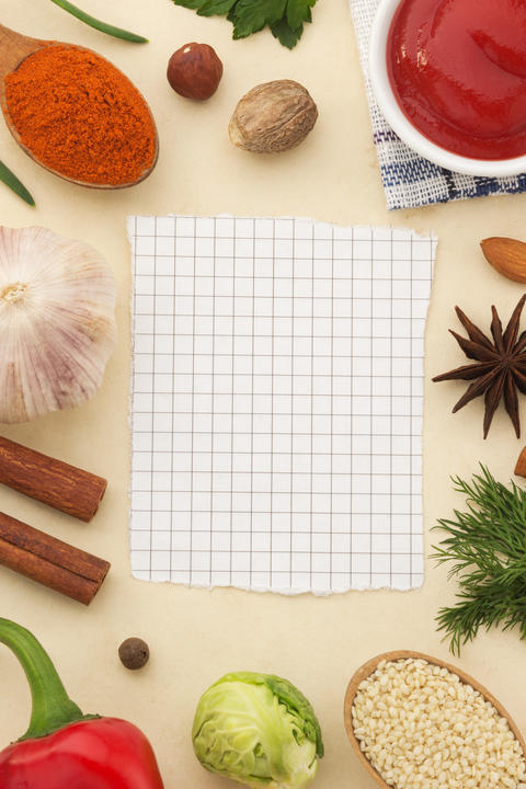 spices background and food フォト