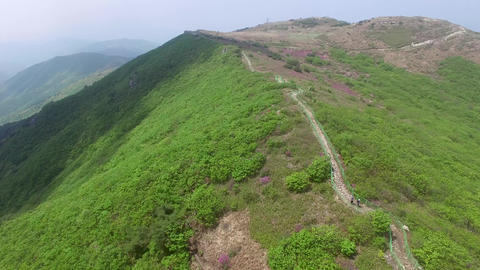 Landscape of Cheonseong Mountain Footage