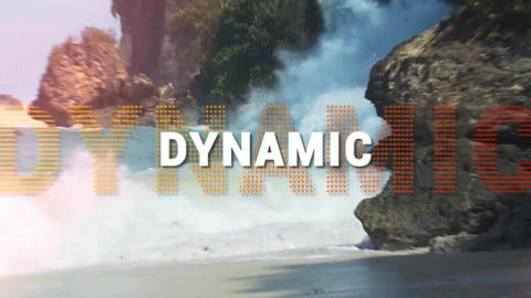 Slideshow Dynamic After Effects Template