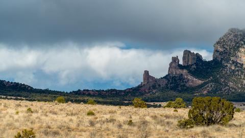 New Mexico Mountain Peaks Footage