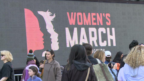 Women's March LA Archivo