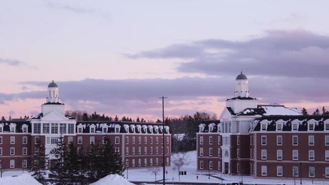 StFX University- Riley & O'Regan Halls in Winter 영상물