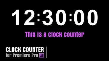 Clock [Clock01] Premiere Proテンプレート