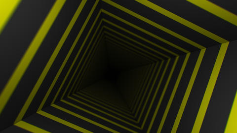 Yellow Striped Infinity Box (24fps) Animation