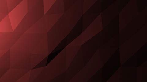 Low Poly Background, Dark Red Animation