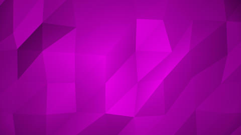 Low Poly Background, Fuchsia Animation