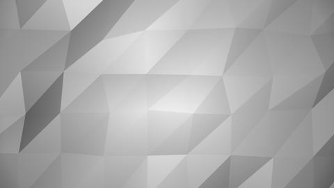 Low Poly Background, Gray Animation