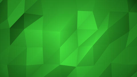 Low Poly Background, Green Animation