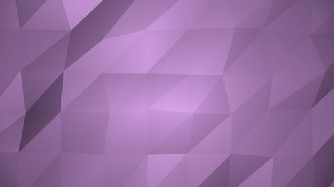 Low Poly Background, Purple Animation