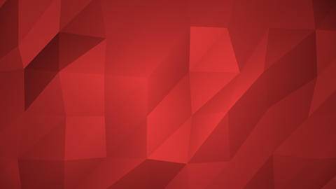 Low Poly Background, Red Animation