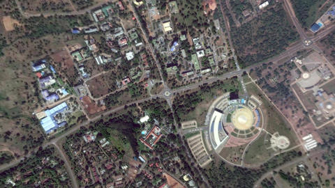 Earth Zoom In Zoom Out Lilongwe Republic of Malawi Live Action
