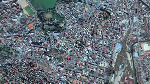 Earth Zoom In Zoom Out Antananarivo Republic of Madagascar Live Action