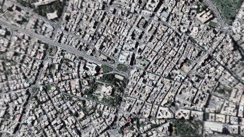 Earth Zoom In Zoom Out Tripoli Lybia Live Action