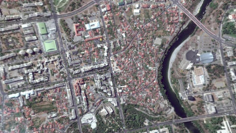 Earth Zoom In Zoom Out Podgorica Montenegro Live Action