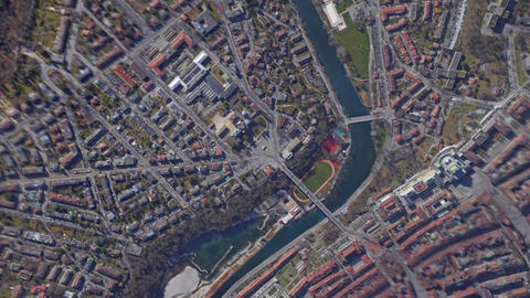 Earth Zoom In Zoom Out Bern Switzerland Live Action