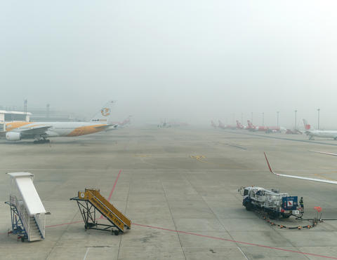 Air Pollution at Don Muang Airport フォト