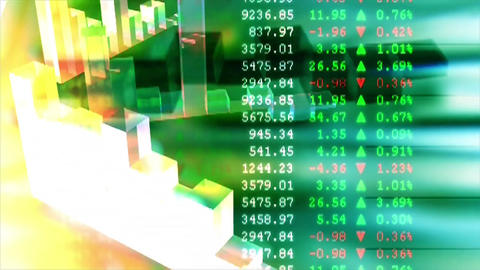 Graph business finance chart Live Action
