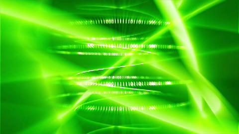 Matrix green particles digital Live Action