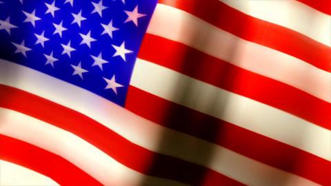Usa flag united states united Footage