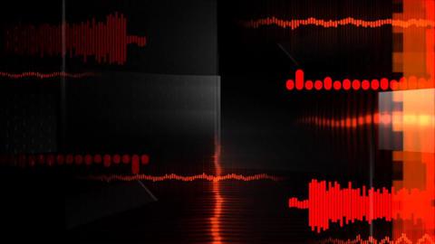 Waveform music amplitude audio Live Action