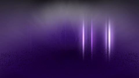 Purple, electric text with sound After Effects Template