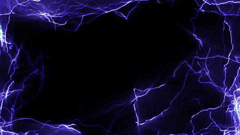 Lightning_Side_BG CG動画素材