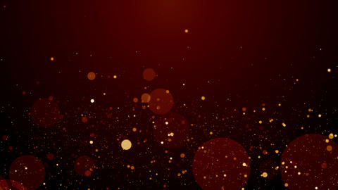 Particles dust bokeh abstract light motion titles cinematic background loop 動畫