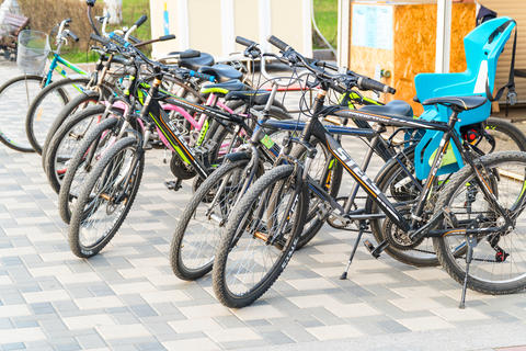 Bicycle rental in Samara フォト