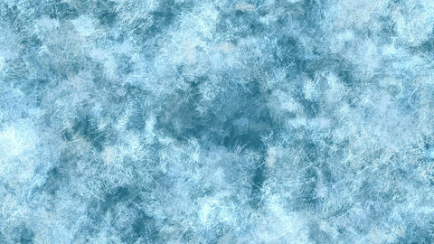 Freezing and Defrosting Window Glass Animation