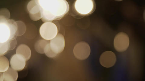 Moving bokeh lights - abstract animation for background -... Stock Video Footage