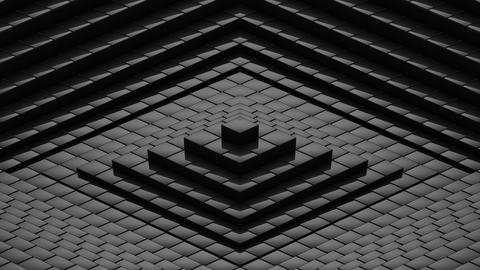 Rhombuses Formed A Wave Animation
