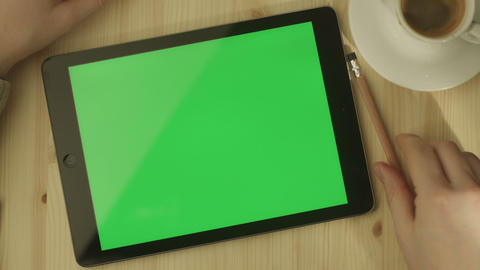 Tablet Green Screen 2 GIF