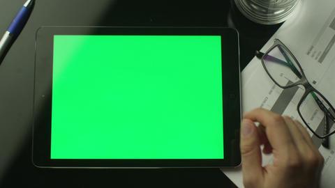 Tablet Green Screen GIF