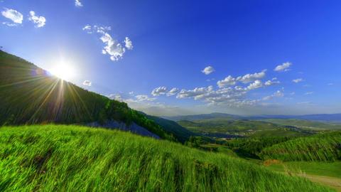 Vibrant Green Hills GIF