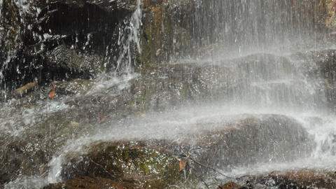 Fix :Waterfall showers wrap rocks ライブ動画