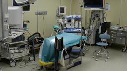 Operating room for abdominal laparoscopy Footage