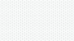 White brick wall. Vector seamless background ベクター