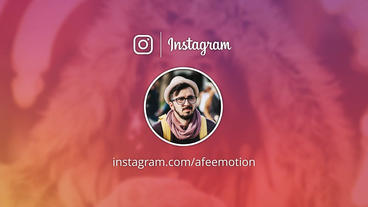 Instagram Promo 애프터 이펙트 템플릿