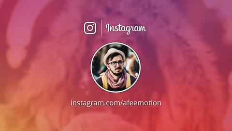Instagram Promo After Effects Template