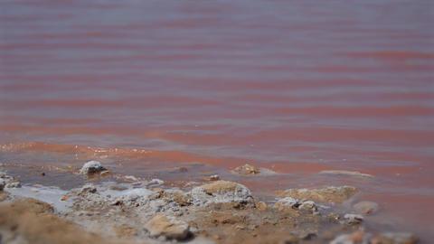 The Shore Of Some Salt Minerals Tilt Shift Miniature GIF