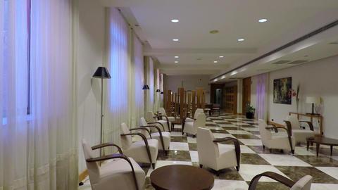Hotel Lounge And Hall 영상물