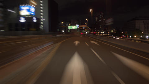 Timelapse - Hanshin Expressway circle track ( Soft focus ) GIF