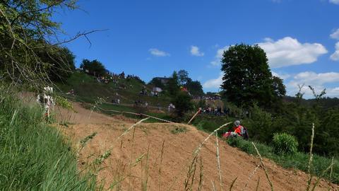 Motocross racers championship 4K Footage