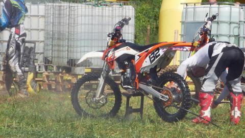 wash motocross bike racers championship 4K Footage