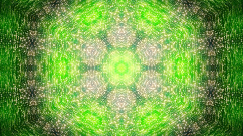 Fractal blue kaleidoscopic background. Background motion with fractal design Footage