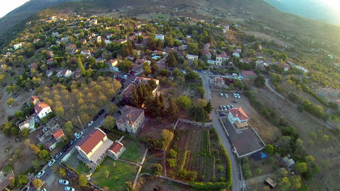 Eski Datca Village from above. Summer vacation, a favorite for south-western Footage