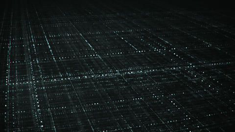 Dolly shot of endless multilayered grid seamless loop animation Animation