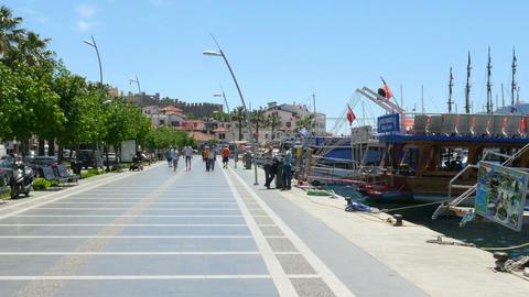 MARMARIS, TURKEY - MAY 2015: Daily life Summer Travel Destination Footage