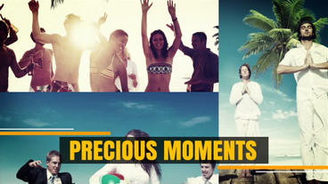 Clean Slideshow stock footage