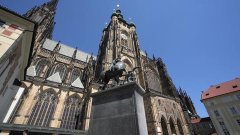 St. Vitus Cathedral in Prague 영상물